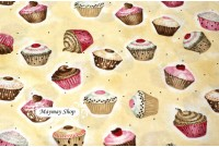 ZC1897*Brownies Cup Cakes*