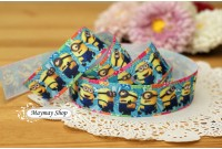 RG1 Grosgrain Ribbon*Minion's Party*