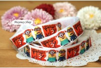 RG2 Grosgrain Ribbon*Minion's Me 2*