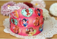 RG7 Grosgrain Ribbon*Disney Princess Portrait*