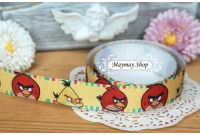RG10 Grosgrain Ribbon*Angry Birds*