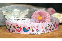 RG11 Grosgrain Ribbon*Love Is In The Air*