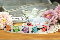 RG16 Grosgrain Ribbon*Happy Owl*