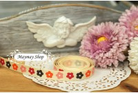 RG23 Sweet Blossom Grosgrain Ribbon
