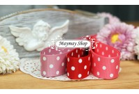 RG25 Polka Dot Grosgrain Ribbon*4.5.6*