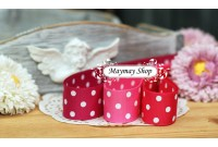RG26 Polka Dot Grosgrain Ribbon*7.8.9*