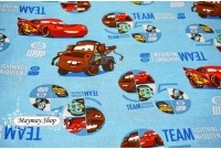 C2137 Designer Cotton*Cars The Race Team*