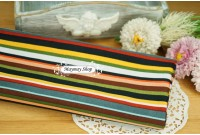 ZC2142 Designer Cotton*Earth Tone Stripe*
