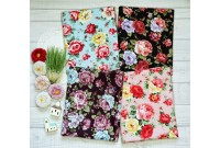JLC2223 Blended Linen Cotton*Bunch Of Roses*