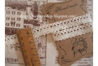 L36 Natural Unbleached  lace 1.5cm