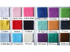 2274 Soft Plain Minky Fabric