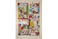 LC902 *Collage in reminiscence Linen*