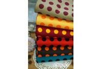 KLC2285 Light Canvas*Huge Polka Dot II*
