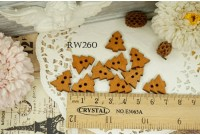 Rw260 Tree Wooden Button
