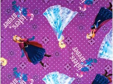 C2355 Designer Brand Cotton*Frozen Sisters Forever Character*