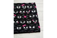 C2169 Designer Cotton*Kawaii Skull*