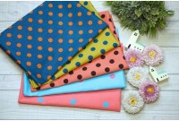 G2375 Colorful Huge Polka Dot Set