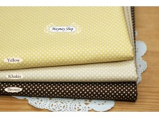 JPC463 Cotton Fabric*Sweet Candy Polka Dot*
