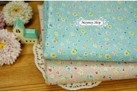 "LC2381 Blended Linen Cotton""Sweet Pastel Blossom"""