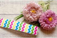 RG32 Colourful Chevron Grosgrain Ribbon(4MM)