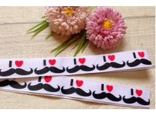 RG34 Moustache Grosgrain Ribbon