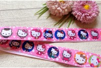 RG36 Kitty Portrail Grosgrain Ribbon