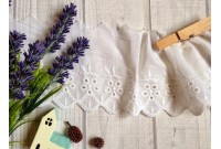 L249 Victorian Style Embroidered Cotton Lace(N)