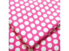 "CF2390 Cotton Flannel ""15mm Sweet Pink Dots"""
