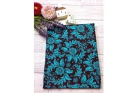 "C2444 Designer Brand Cotton""Tiffany Batik Theme"""