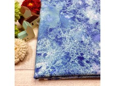 "C2450 Designer Brand Cotton""Blue Marble"""