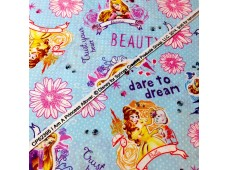 "C2465 Designer Brand Cotton""Disney Princess"""