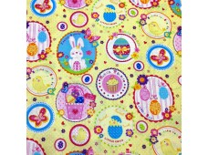 "C2468 Designer Brand Cotton""Esther Eggs"""