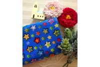 "C2484 Designer Brand Cotton""Blue Star"""