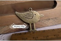 Rw80 Antique Metal Badge  *E Stand Bird*