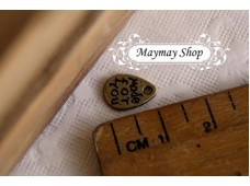 Rw72 Antique Zipper Charm * Made For U *(0)