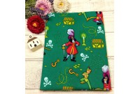 "C2567 Designer Brand Cotton""Captain Hook & Peter Pan"""