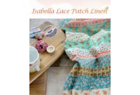 "LC2575 Blended Linen Cotton ""Isabella Flower Lace Patch"""