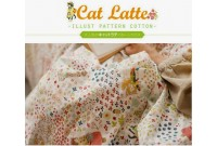 "LC2580 Blended Linen Cotton ""Cat Latte"""