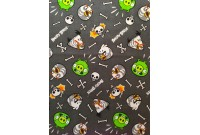 "C2594 Designer Brand Cotton""Angry Birds"""