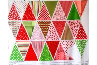 C2620 Colourful Christmas Bunting(Defect)