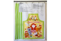C2631 Aussie Christmas Apron Panel