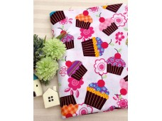 "C2681 Designer Brand Cotton""Sweet Cup Cakes"""