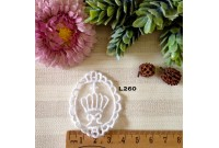 L260 Applique Style Lace Crown Frame
