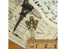 Rw72 Antique Zipper Charm *Angle * (21)