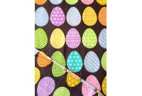 "C2794 Designer Brand Cotton""Colourful Eggs"""