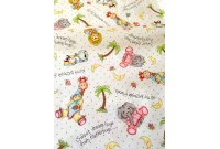 "C2795 Designer Brand Cotton""Sweet Dreams Animal Toss"""
