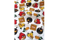 "C2823 Designer Brand Cotton""ANGRY BIRDS"""