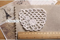 L205 Rose's & Waves Applique Lace