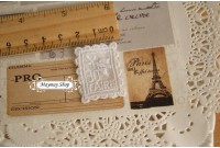 L157 Applique Style Lace Stamp
