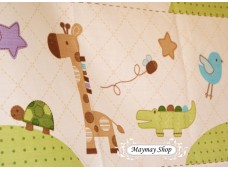 C707 Designer Brand Cotton * It's Giraffe Stripe*
